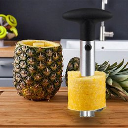 Wholesale Hold Ups - Fashion Hot Novelty Home holds stainless steel Fruit Pineapple Corer Slicer Peeler Cutter Parer Knife DHL Fedex UPS Free Shipping