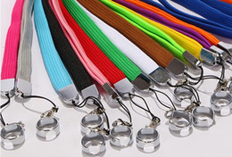 Wholesale Ego Necklace Metal - cheap ego Lanyards with metal buckle string , necklace for e cig for ego Electronic cigarette ego, ego-t Colorful wholesale Free Shipping