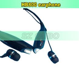 Canada Casque stéréo sans fil Handfree de casque d'écouteur de Bluetooth HB800 pour l'iphone 6 6plus 5 5S 5C 4S Samsung Galaxy s6 s5 note DHL libre Offre