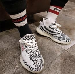 Wholesale Knit Ankle Socks - 18ss Vetements Basketball Socks Red Stripe White Black Cotton Socks Skateboard Hip Hop High Street Sports Fashion Midtop Socks HFLSWZ004