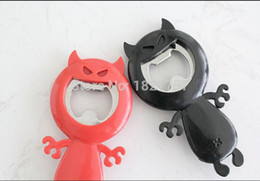 Wholesale Devil Opener - New Funny Devil Corkscrew Home Wine Beer Bottle Opener Hot Drop Shipping Free Shipping Wholesale 0914#14