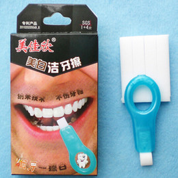Wholesale Dental Tooth Whitening Kit - DHL Free Shipping Nano Teeth Whitening Kit Cleaning Brush Remove Cigarette Stains Black Stains Dental Plaque Physical No Harm Instant Whiten