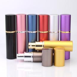 Alta Qualidade 10 ml Garrafa De Vidro De Alumínio 10 ML Presente Perfume Garrafas De Alta Qualidade Recarregáveis Mini Perfume-garrafa Perfume Atomizador Garrafa Vazia de