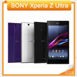 "Wholesale Gps Cell Phone 3g Touch - Original Sony Xperia Z Ultra XL39H Cell phone Quad-Core 2GB RAM 3G&4G C6802 C6833 6.4"" Touch 8MP Camera WIFI GPS Unlocked Phone"