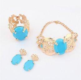 Wholesale Anna Dello Russo - Wholesale-Anna dello russo blue rhinestone snake necklace