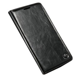 Wholesale Waterproof Flip Phones - S5Q PU Waterproof Flip Leather Wallet Phone Case Cover Stand Protector For LG G4 AAAFHQ