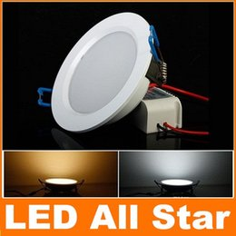 Wholesale New White Kitchen Cabinets - 2015 Brand New 12W Led Downlights Round Shell Dimmable Led Recessed Ceiling Light 900Lm Led Cabinet Lamps AC 110-240V