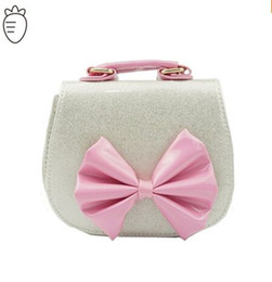 Wholesale School Handbags For Women - 2016 kid bags with butterfly bowtie children bags for small children handbag girl shoulder bag for school