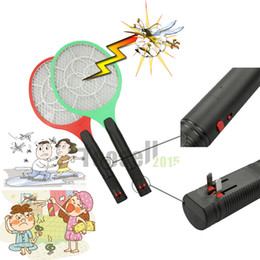 Wholesale Electric Netting - Mosquito Nets Swatter Bug Insect Electric Fly Zapper Killer Racket Rechargeable With LED Flashlight Household Sundries Pest Control