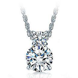 Wholesale Gourd Necklace Pendant - 925 sterling silver pendant fashion female zircon Crystal gourd Necklace Pendants hypoallergenic women's jewelry