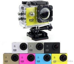 Wholesale Action Digital - 1080P sports camera sport camera action cameras Digital Camera go Helmet cameras pro Waterproof DV Bicycle skate Recording Camcorders