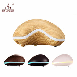Wholesale Nut Oils - Gx .Diffuser Cashew Nut Shape Aromatherapy Humidifier Ultrasonic Air Humidifier Essential Oil Aroma Diffuser Mist Maker Fogger