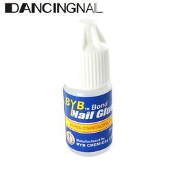 Wholesale Nail Glue For Free - Wholesale-4pcs 3g Mini Bottle Nail Art Glue For Acrylic UV Gel False Tips Decoration DIY Manicure Tools Free Shipping 2015 New Arrivals