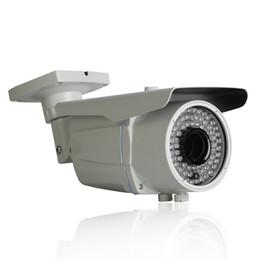 Wholesale Video Cmos Sensor Lens - 1080P Network IP Camera Varifocal 2.8-12mm Lens CMOS Sensor 78 IR H.264 25fps 2MP Bullet Waterproof Video Surveillance Camera
