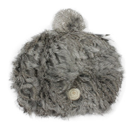 Wholesale Valentine Rabbit Gift - Wholesale-New Cute Women Lady Winter Hats Two Colors 100% Rabbit Hair Fur Handmade Hats Caps For Valentines Gift 1248