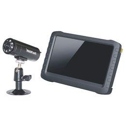 Wholesale Dvr Camera Kits - 2.4G 8CH HD Wireless Mini DVR Security Camera Receiver + Camera Kit