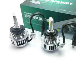 Wholesale Drl Light Kit - 50% OFF 33W H7 CREE LED Headlight Headlamp Auto Conversion Car LED Kit 3000LM DRL Lamp Bulb Light H8 H9 H11 HB3 HB4 9005 9006 WHITE YELLOW