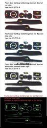 Wholesale Rear Floor Mats - 8 PCS SET Silicon gel Car Interior Floor Mat   storage box mat, Anti-Slip Gate Slot pad For FORD Fiesta Free Shipping