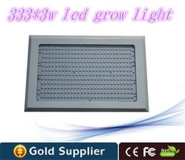 Venta al por mayor 1000w LED interior crece ligero, 333X3W crece Leds para iluminaciones hidropónicas Dropshipping desde fabricantes