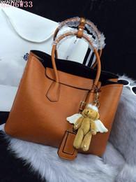 Wholesale Good Quality Handbag Brands - Brand handbags Women good Leather handbags pure color Luxury fashional bags NO 6206 W35.5H27D17.5 Quality Guranteed free shipping
