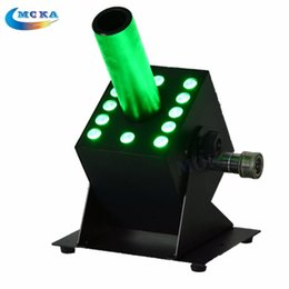 Wholesale Co2 12 - 2015 rushed auto 110v 220v 240v led lamp 12*3w co2 jet machine rgb color multi angle stage special effect dmx cryo jet