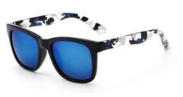 Wholesale Blue Tinted Lenses - 2018 Unisex Nice Temple Blue Purple Lens Hot Sale Party Sunglasses Fashion Brand Designer Colorful Tinted Sunglasses 3182