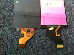 teste de cor livre Desconto Para sony z1 compacto d5503 novo teste lcd touch screen digitador substituição dhl cor preta frete grátis
