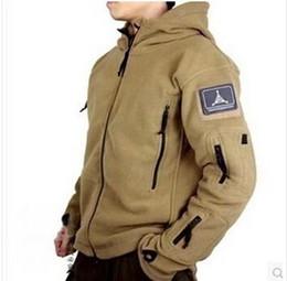 Wholesale Hooded Fleece Tactical - Ranger Jacket TAD Fleece Polartec outdoor Military Tactical Jacket men Thermal Breathable Lightweight Sports Clothing Fleece Jacket & coat