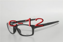 Wholesale Sport Prescription - 12 color xhoose New Prescription RX Sports Glasses Eyeglasses Frames CROSSLINK Satin Midnight OX8037 OX 8037 free shipping