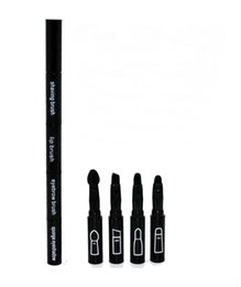 Wholesale Eyebrow Sponge Brush - Multi Function Face Brush 4 In 1 Small Brush Lip Eyebrow Sponge Eyeshadow Brush ( 60 Pcs Lot)