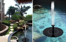 Wholesale Solar Pool Kit - Solar Water Pump for Pond Solar Water Fountain Pump Solar Fountain Pump Kit Outdoor Floating Fountain Pond Pool for Garden MYY