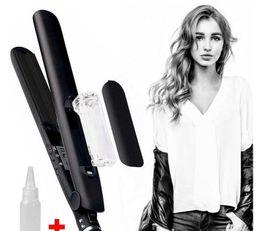 Wholesale Hair Board - Epack Ceramic Board Steam Curling Straightener Hair Splint Spray Splint Straight Hair Tool For Salon DIY Hairstyle Floating Plates