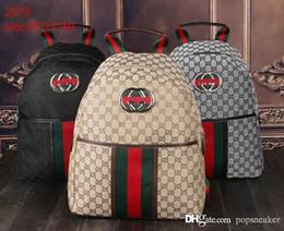 Wholesale Back Bags Men - Fashion G Backpack Men Women Leather Bags Brand Designer G Famous Back Packs Bag Embroidered Backpacks Ladies Bags Cheap Sale