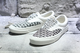 Wholesale Fashion News Men - 2017 News MATTYBOY the top quality MEN Womens Casual Shoes Fashion Fear of God x Vault by VAN Casual lovers Canvas shoes size:36-44