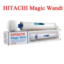 Wholesale Hitachi Personal Massager - 2015 New arrival Hitachi Magic Wand Massager AV Vibrator Massager Personal Full Body Massager HV-250R 110-240V with retail box from Airmen