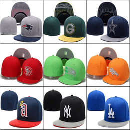Wholesale Cheap Swag Hats - Wholesale-(5pcs lot)cheap Fitted hats baseball hats for women men sport Fitted caps brand swag hip hop cap gorras bones caps,free shipping