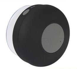 Wholesale Water Proof Mp3 Speakers - Wholesale-Water Proof Bluetooth Speaker Mini Wireless Shower Speaker Handsfree Portable Speaker Dedicated Suction Cup for Showers Bathroom
