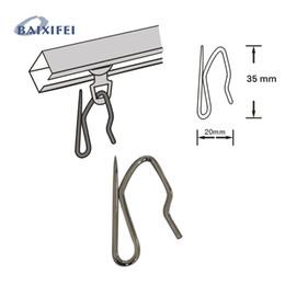Wholesale Wholesale Curtain Holders - Curtain hooks Stainless Steel curtain's holder S type Iron Hooks