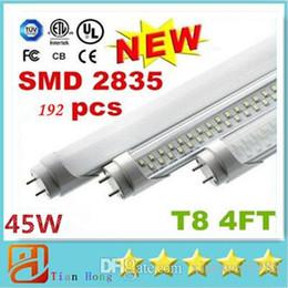 Wholesale 3ft t8 - 4ft 22W 28W 45W 3ft 18W 2ft 11W 2835 T8 4FT Led Tube Lights 3200lm CRI>85 Warm Natural Cool White 1.2m AC 85-265V