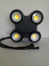 Wholesale Matrix Sounds - Wholesale- Outdoor waterproof IP65 4 eyes led blinder light 4x100w cob warm white+ cool white 2in1 LED Matrix Blinder light