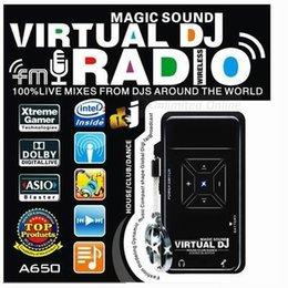Wholesale Dj Digital Mixer - Wholesale-High-Fidelity Digital Music Entertainment And DJ Magic Sound System ,DJ mixer ,DJ player+ FM-RADIO ,Free Shipping dropshipping