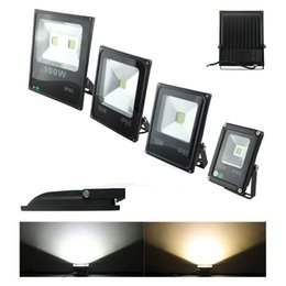 Wholesale Environmental Led - Ultrathin 10W 20W 30W 50W AC 85-265V LED Flood Light white Floodlight IP65 Water-resistant Environmental-friendly for Outdoor Garden Yard
