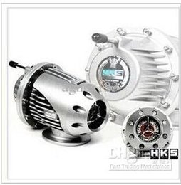 Wholesale Universal Bov - Universal HKS SQV SSQV BOV 4 IV Turbo Blow Off Valve JDM With Adaptor top sale free shipping