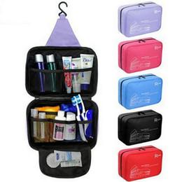 Wholesale Travel Wash Bag Wholesale - New Casual Hanging Waterproof Travel Toiletry Wash Makeup Storage Cosmetic Organizer makeup Bag For Women MEN