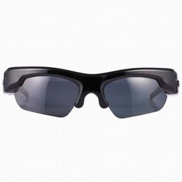 Wholesale Spy Mini Phone - 2016 New Arrival Bluetooth Sunglasess Camera Full HD 1080P spy Hidden Camera Mini voice recorder Smart glasses for Bluetooth Smart phones