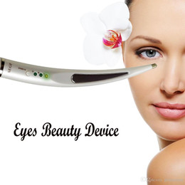 Wholesale Ion Anti Wrinkle - Eye Massager Eyes Beauty Device Eyes Care Eye Bag Reduction Eye Wrinkle Removal Micro Current ION Personal Household Portable Beauty Machine