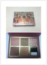 Wholesale natural bronzer - Brand New And Sealed Cheekathon Blush Kit Bronzer& Highlighter Makeup Bronzer Blush Guaranteed Quality Best Price Free Shipping