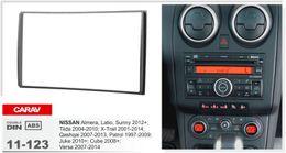 Wholesale Car Nissan Patrol - CARAV 11-123 car Radio surround facia trim CD dash kit for NISSAN Almera, Latio, Sunny ; Tiida ; X-Trail , Patrol ; Juke