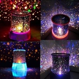 Wholesale Projector Sky - High Quality Festival Lighting Colorful Cosmos light lamp Romantic Star Master Sky Night Cosmos Projector Light Lamp Christmas Gift LB