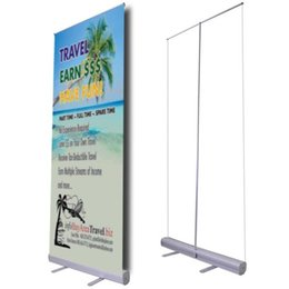 Wholesale Rack Rolling - Economic Promotional Roll up Banner Stand Trade Show Retractable Roll up Banner Stand with Printing and Portable Carry Bag